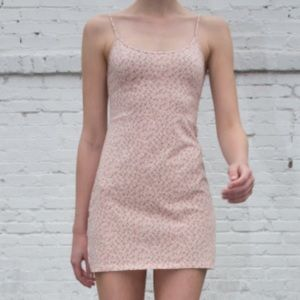 brandy pink floral dress